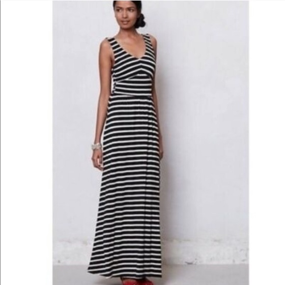 07e4937d8f7ce Anthropologie Dresses | Puella Striped Maxi Dress | Poshmark